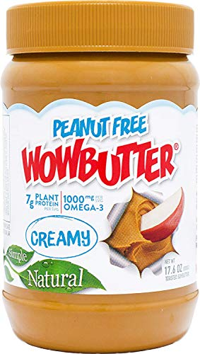 Butter Creamy - Wowbutter Natural Peanut Free Creamy 6x1.1lb Jars