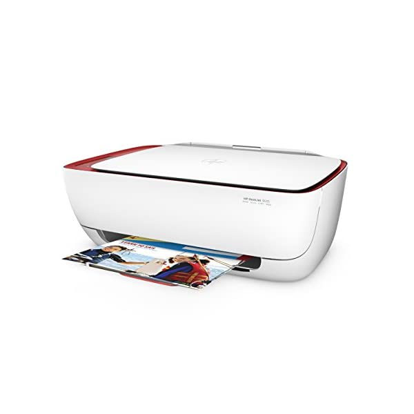 HP DeskJet 3637 - Impresora multifunción (Inyección de Tinta térmica A4, WiFi, Color, Negro, Cian, Magenta, Amarillo) Color Blanco 4