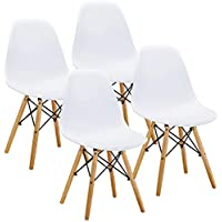 VECELO Mid Century Modern Eames Style Dining Chair Side...