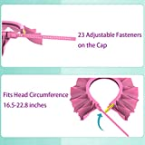 Baby Silicone Shower Cap Bathing Hat, Adjustable