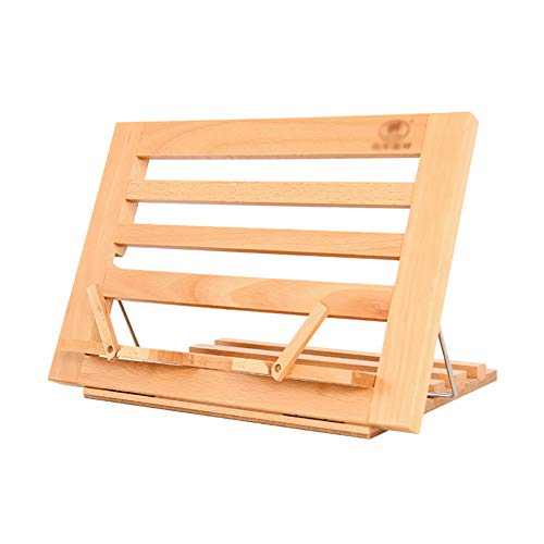 (Easel Drawing Board Rack Shelf Reading Bookshelf Bracket Multi-Function Desktop Foldable)