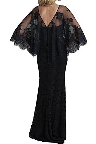 Sexy Promkleider Neck Schwarz Ivydressing Bodenlang Neu Partykleider Lila V Meerjungfrau Abendkleider 2017 Spitze wzUxUq