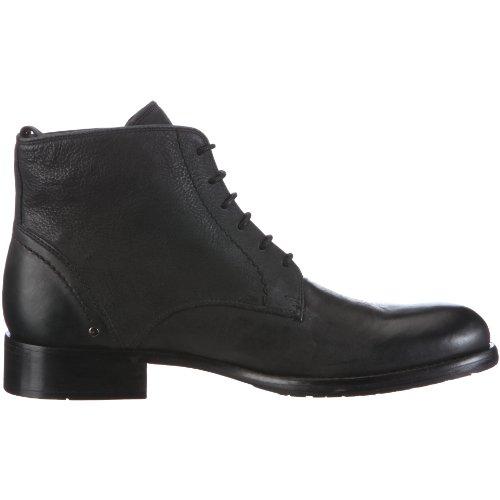 Belmondo 854300/A - Botas de ante para hombre Negro