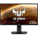 """ASUS TUF Gaming VG27AQ 27"""" Monitor, 1440P WQHD (2560 x 1440), IPS, 165Hz"""