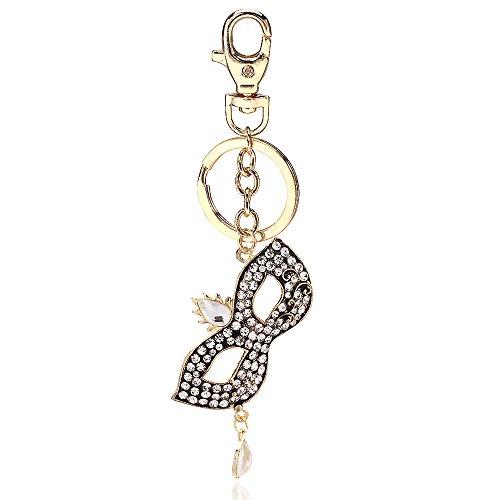 Crystal Butterfly Keychain Favors (DHWM KDHWM-Gift/Love Keychain/Car Butterfly Key Chain Packages Car Mount.)