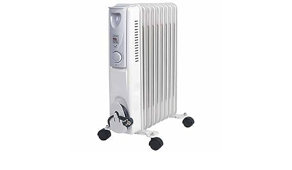 Syntesy cdf01559 Estufa radiador de aceite, 9 elementos, 2000 W ...