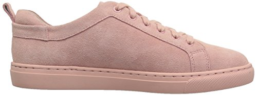 206 Collective Women's Lemolo Lace-up Fashion Sneaker Rose Suede
