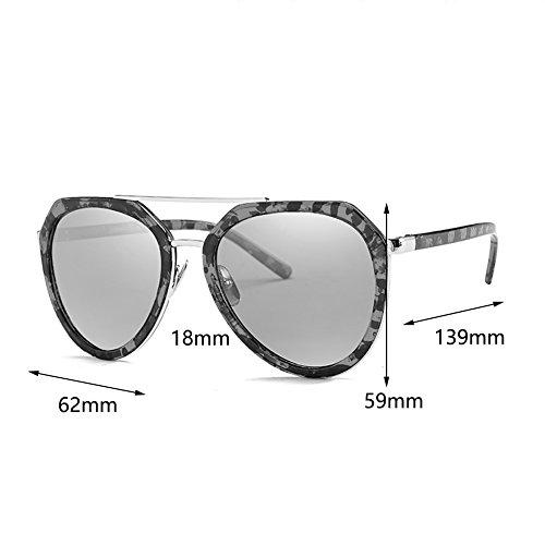 para de de arena playa Gafas ligero de moda B YXX mujeres de Gafas Color polarizadas la peso la UV400 A sol la ropa 0aaxIqd6