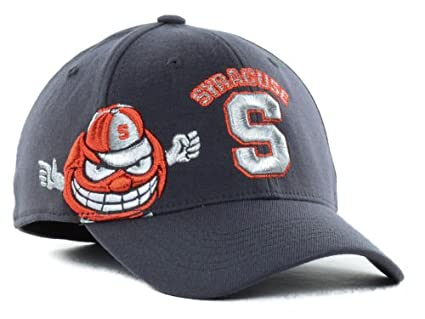 super popular af62c f0c7e Image Unavailable. Image not available for. Color  NCAA Top of the World  Syracuse Orange Men  quot Molten Charcoal quot  Fitted Hat L