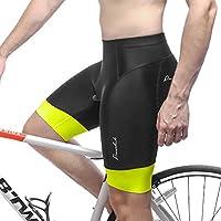 Przewalski Mens 3D Padded Cycling Shorts, Bike Biking...