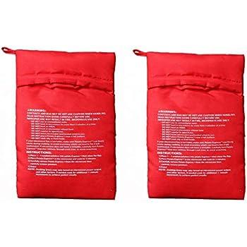 Amazon.com: OBTANIM - Bolsa para microondas (2 unidades ...