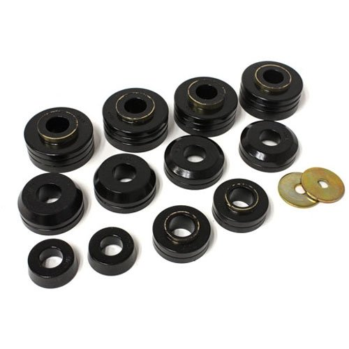 Energy Suspension 4-4104G FORD BODY MOUNTS - BLACK