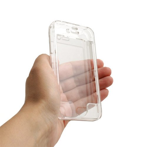 System-S Crystal Case Acryl Hülle für Apple iPhone 4G
