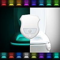 Motion Sensor LED Toilet Light