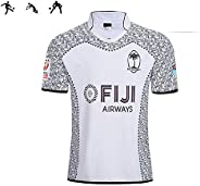 2019 World Cup Soccer Uniform Fîjì Rügby Suit Jërsëy Polyester Soft Soccer Uniform Sportswear Short Sleeve T-S