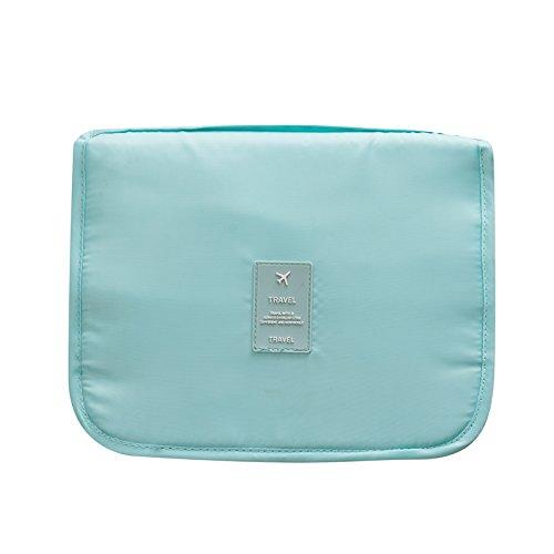 LULAN Pauschalreisen in der Wäsche Paket große Kapazität portable wasserdichte Tasche Kosmetik Tasche, Multifunktion waschen Paket, 24 * 9,5 * 19 cm, waschbar - Blau