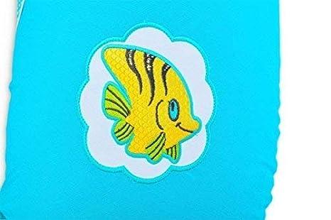 Est/ándar /Ökotex 100 Coj/ín de lactancia Sei Design Funda con cremallera y bordado de alta calidad azul Antarktisblau Fisch Talla:F/üllung: EPS Mikroperlen XXL 190 x 30 cm