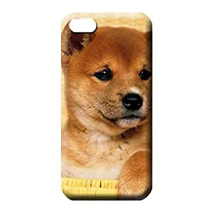 iphone 5 5s Popular Plastic Fashionable Design mobile phone covers cute shiba inu puppy