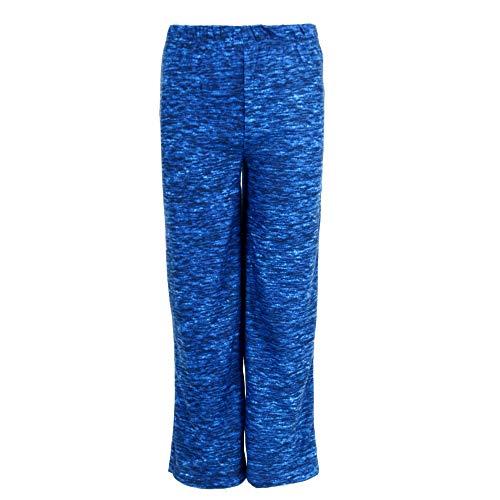 - Hanes Boy's Micro Fleece Pajama Lounge Pants, Medium, Navy Royal