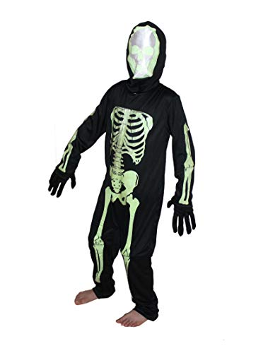 Skeleton Costume,CaliFor Kidsnia costume,Halloween/cosplay/School Annual function/Theme Party/Competition/Stage Shows Dress -