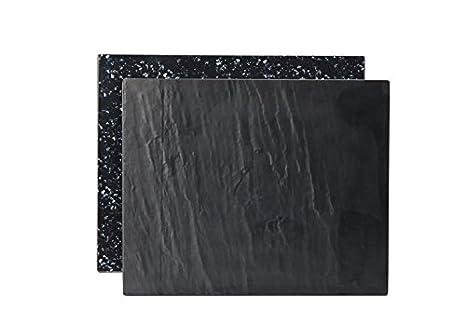 Utopía Reversible pizarra/granito melamina platos jmp231 ...