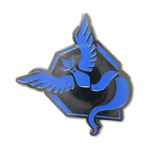 Team Mystic Articuno Pin Pokemon GO Pokemon Go Plus Pins by PokeSwag-Cool Blue Team Gym Badges-Metal Lapel Button-Enamel Fill Emblem-Pokemon Games Kanto Fans & Collectors-Accessories