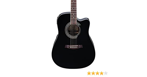 Amazon.com: Ibanez V70CE Acoustic-Electric Guitar Black: Musical Instruments