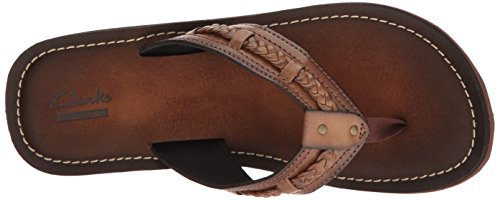 Clarks Mujer Fenner Nerice Flip Flop Honey Synthetic