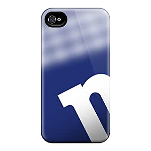 Durable Cell-phone Hard Cover For Iphone 4/4s With Unique Design Nice New York Giants Skin ZachDiebel