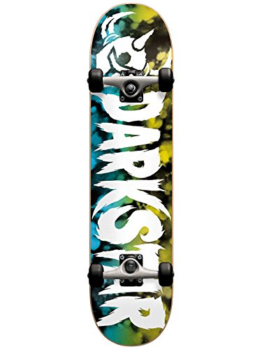 Dark 10512147 Ultimate Yellow/Blue Complete Skateboard, Yellow/Blue, Size FUL7.75