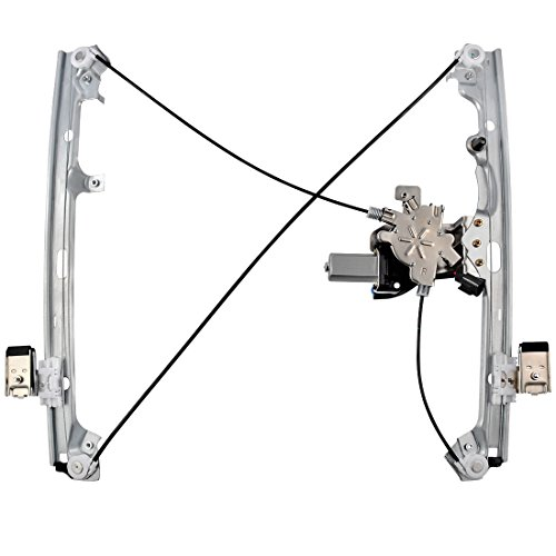 Power Window Regulator and Motor Assembly for Chevy Avalanche Silverado Suburban Tahoe, GMC Yukon Sierra, Cadillac Escalade, Front Right Passenger Side.