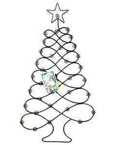 Amazon.com: Christmas Tree Card Holder Wall Mounted ...