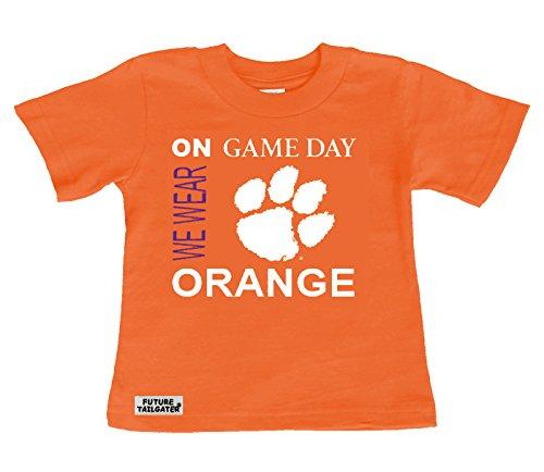 割引発見 Clemson B071WF8Q5J Tigers 4T on Game Game Dayベビー/幼児用Tシャツ 4T B071WF8Q5J, nanouniverse:d2603642 --- a0267596.xsph.ru