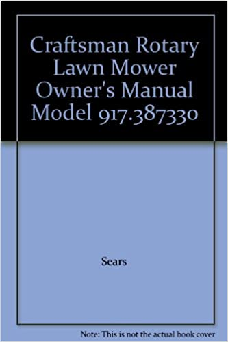 craftsman lawn tractor user manual