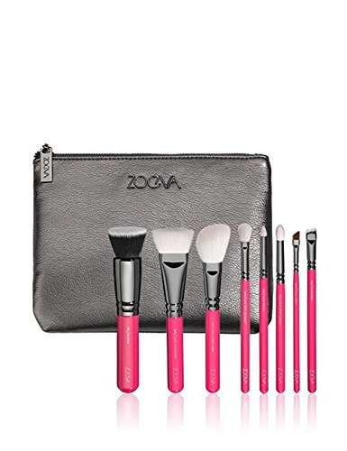 ZOEVA Brushes Makeup Cosmetics Brush Tool Pink Elements Classic Set Bag Complete Eye Set 8 Pennelli Face Eye Brushes Blending Makeup Brushes set Complete Eye by 7461