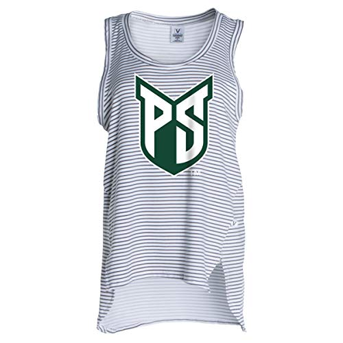 Official NCAA Portland State Vikings - Women's Stretchy Striped Tank