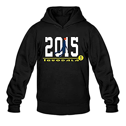 Kerr Bench Africa Andre 9 Iguodala Hoodie Man's Black (Oklahoma Championship Ring)