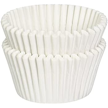 Amazon.com: DECONY White Standard Size Cupcake Paper Baking Cup ...