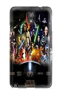 High Quality DanRobertse Star Wars Phantom Menace Skin Case Cover Specially Designed For Galaxy - Note 3