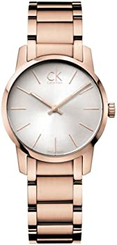 Calvin Klein K2G23646 City Silver Dial Ladies Watch
