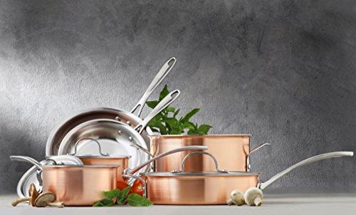 Calphalon Tri-Ply Copper 10 Piece Set