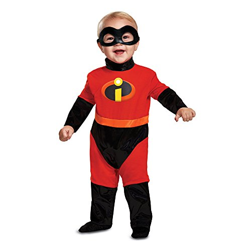 Disguise Baby Incredibles Infant Classic Costume, red, 12-18m -