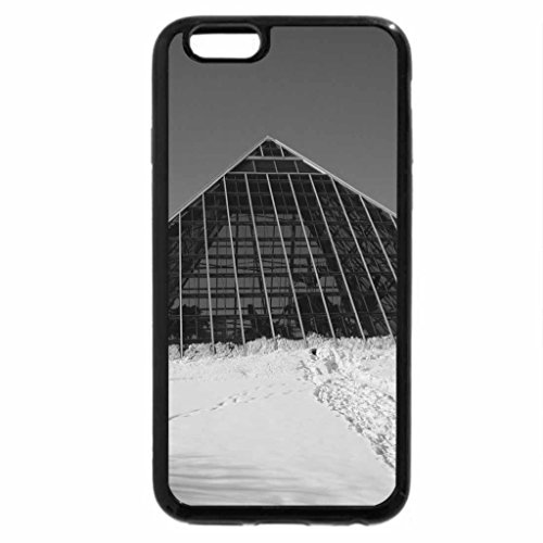 iPhone 6S Plus Case, iPhone 6 Plus Case (Black & White) - Muttart Conservatory of Edmonton 01