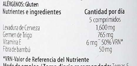 H4U Levadura y Germen - 4 Paquetes de 125 Cápsulas: Amazon.es: Salud y cuidado personal