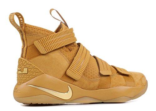 Nike Lebron Soldier 10 Mannen Basketbalschoenen Tarwe Goud