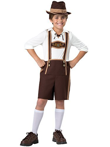 InCharacter Costumes Bavarian Guy Costume, One Color, Size 10 by InCharacter (Bavarian Guy)