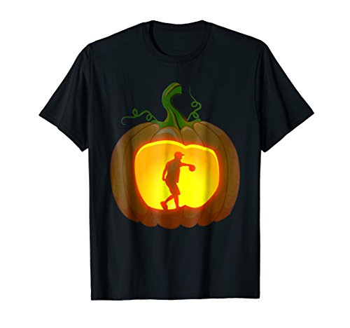 disc golf shirt Pumpkin Halloween]()