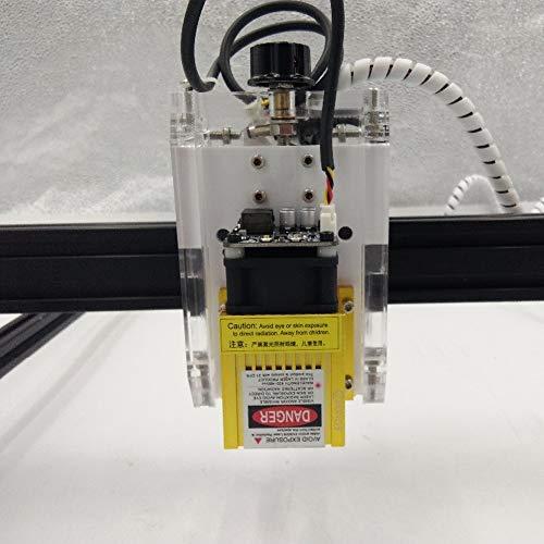 TOPQSC Kits de graveur laser bricolage CNC 6550 taille de travail CNC machine USB gravure au laser Carver 2500mw bureau sculpture gravure machine de d/écoupe