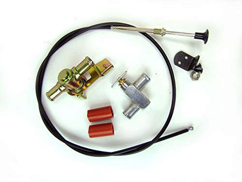 Cable & Heater Valve Kit, Pull to Close #50-1554 by Old Air Products (Image #3)