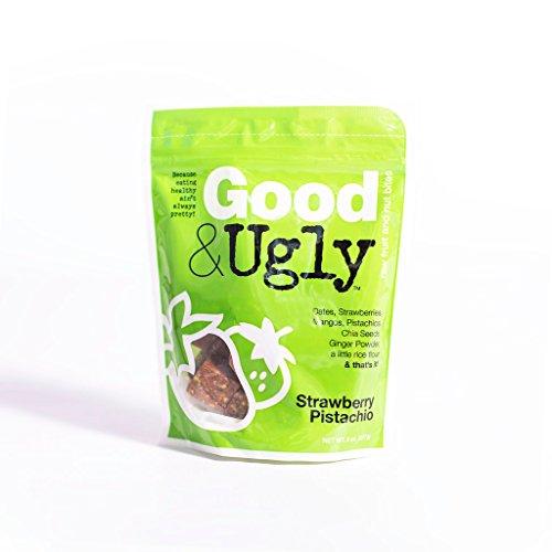 (Good & Ugly Strawberry Pistachio Fruit & Nut Bites)